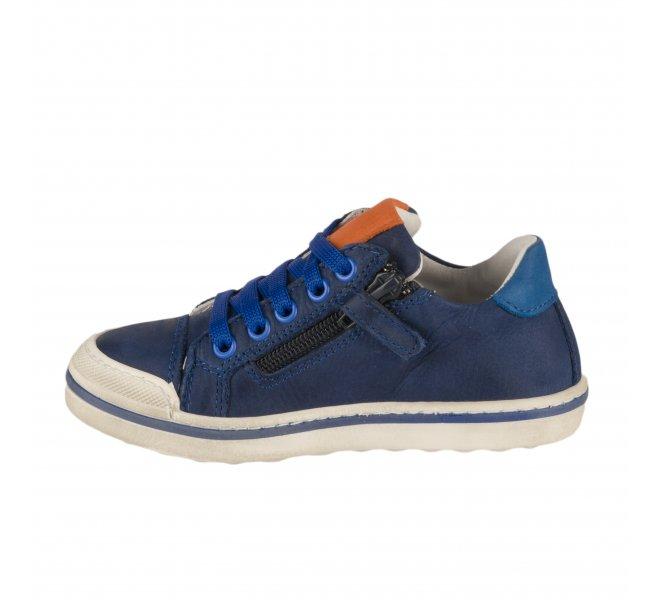 Baskets garçon - CHAUSSMOME - Bleu