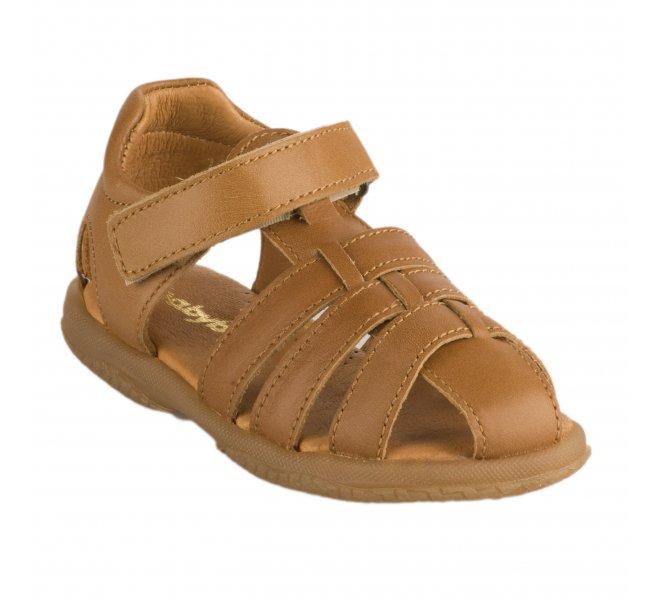 Nu-pieds garçon - BABYBOTTE - Camel