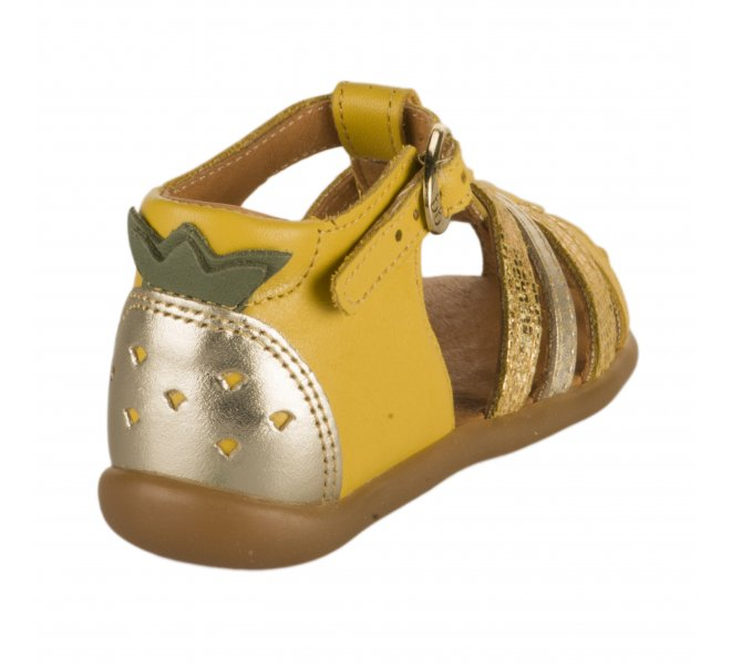 Nu-pieds fille - BABYBOTTE - Jaune