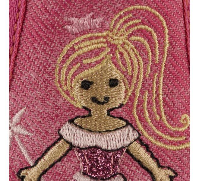 Pantoufles fille - BELLAMY - Rose