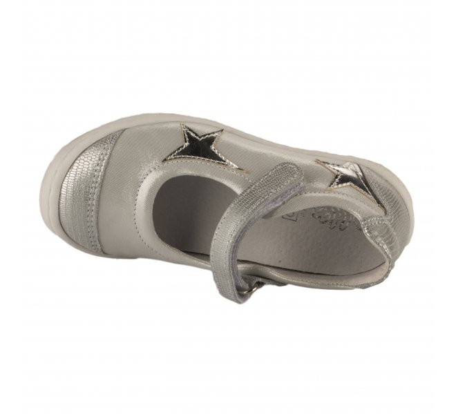 Ballerines fille - BELLAMY - Gris argent