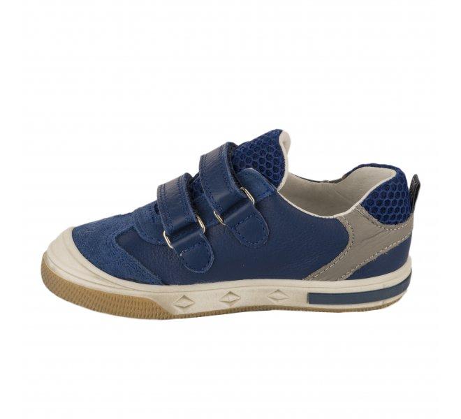Baskets garçon - BOPY - Bleu