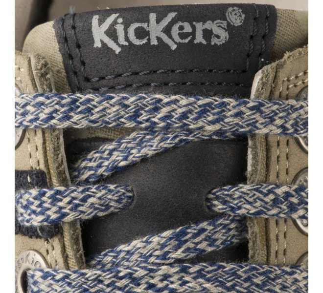 Baskets garçon - KICKERS - Kaki