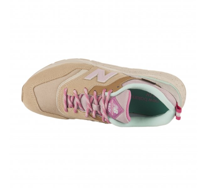 Baskets fille - NEW BALANCE - Beige