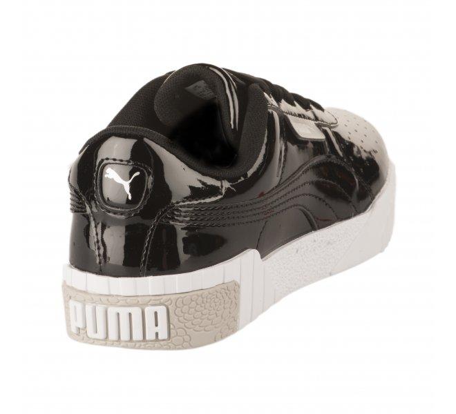 Baskets fille - PUMA - Noir verni