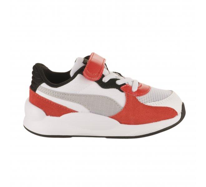 baskets puma rouge