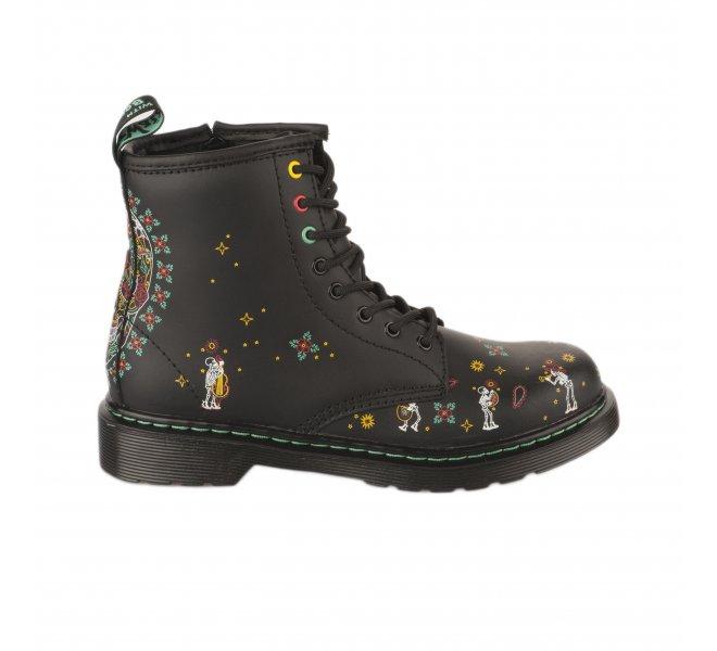 Chaussures mixte DR MARTENS Noir mat