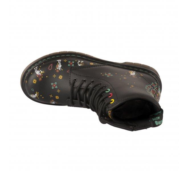 Chaussures mixte - DR MARTENS - Noir mat