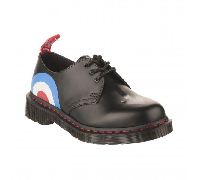 à lacets DR MARTENS femme Noir Chaussures CthQdxsr