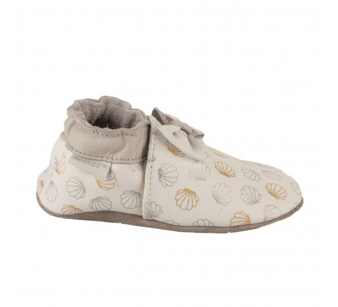 Chaussons fille - ROBEEZ - Blanc