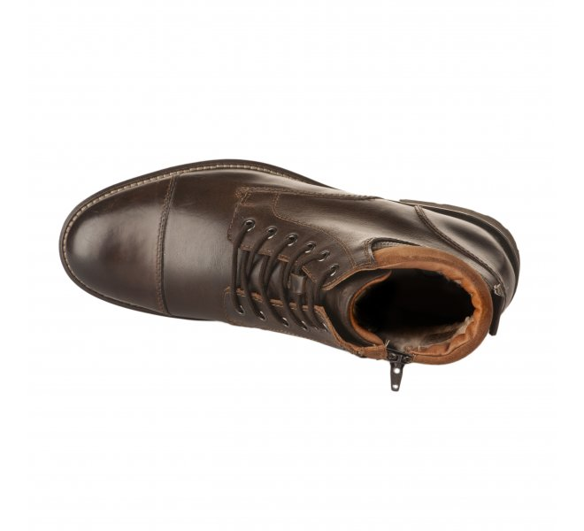 Bottines homme - FIRST COLLECTIVE - Marron