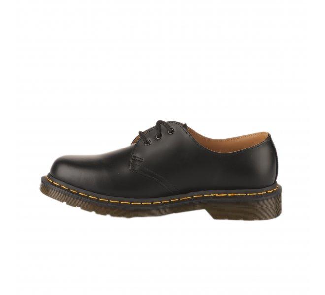 Chaussures à lacets mixte DR MARTENS Noir mat