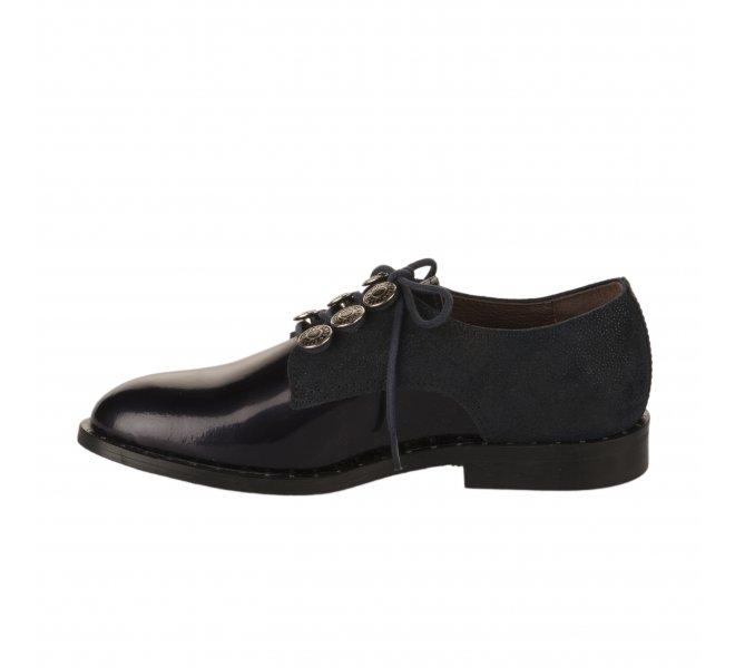 Chaussures à lacets fille - FéTéLACé - Bleu marine