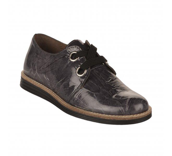 Chaussures à lacets fille - FéTéLACé - Gris verni