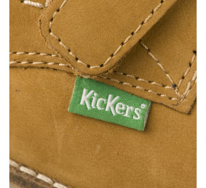 Bottines garçon - KICKERS - Gold