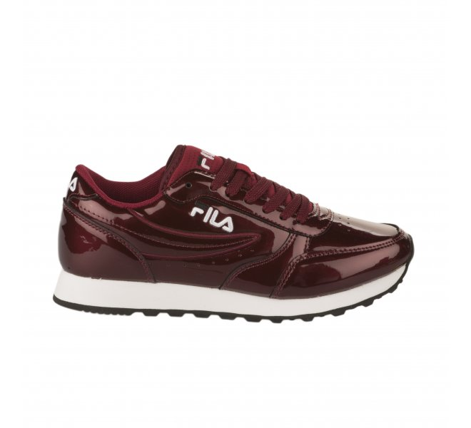 Baskets Bordeaux Verni Rouge Fille Fila zVpqSMUG