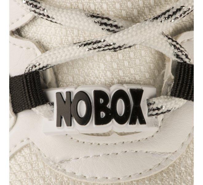 Baskets fille - NO BOX - Blanc