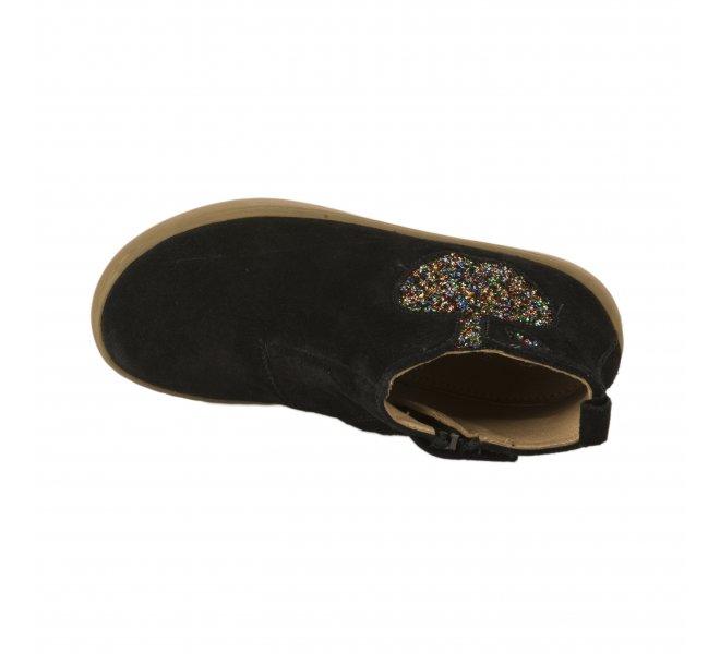 Boots fille - SHOO POM - Noir