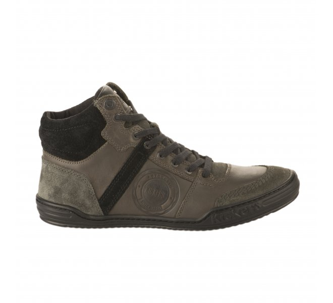 Bottines homme - KICKERS - Gris anthracite
