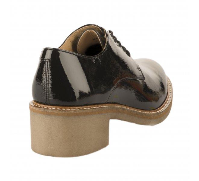 Chaussures à lacets femme - KICKERS - Noir