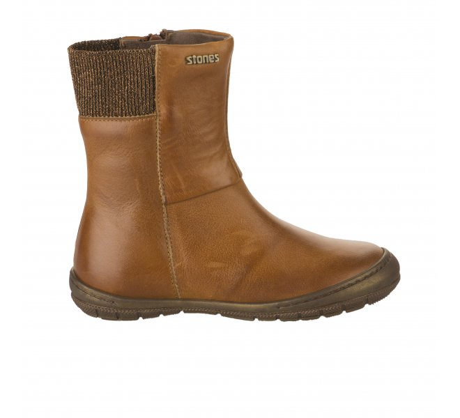 Boots fille - STONES AND BONES - Naturel
