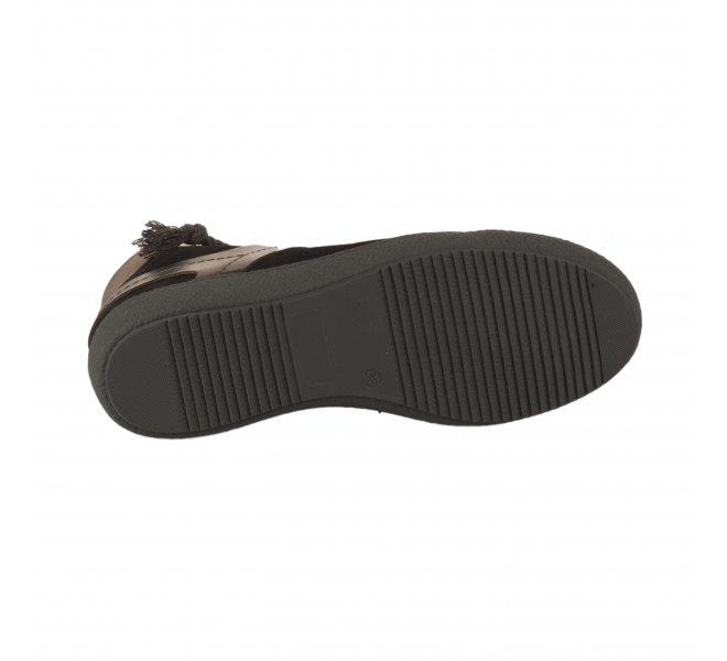 Baskets mode femme - CASTA  - Noir