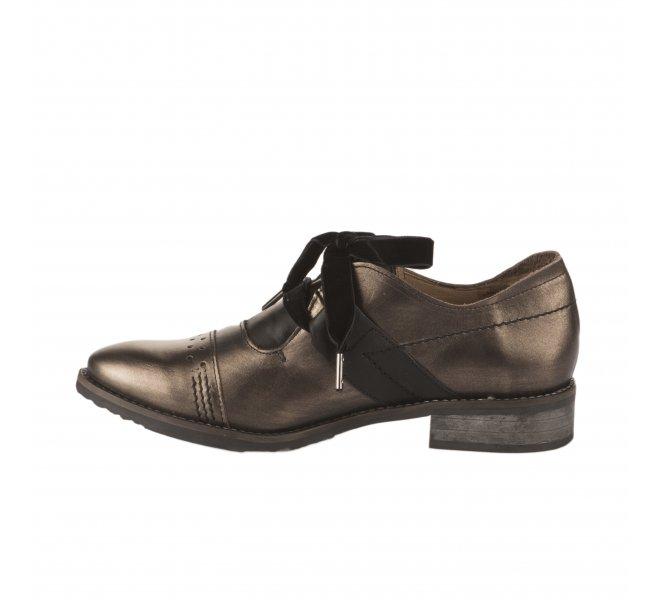 Chaussures à lacets femme - CASTA  - Bronze