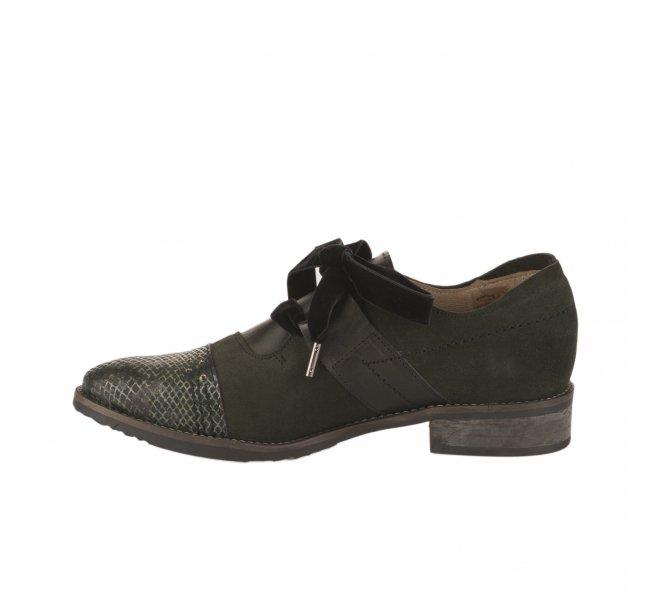 Chaussures à lacets femme - CASTA  - Vert fonce