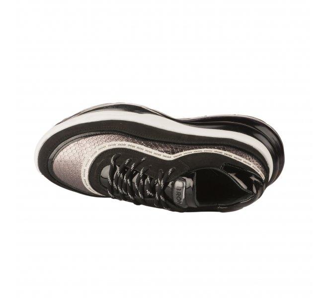 Baskets mode femme - BRONX - Noir