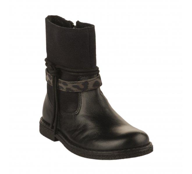 Boots fille - APPLES & PEARS  - Noir