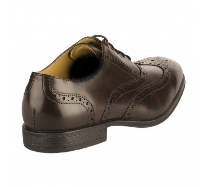 Chaussures à lacets homme - STEPTRONIC - Marron fonce