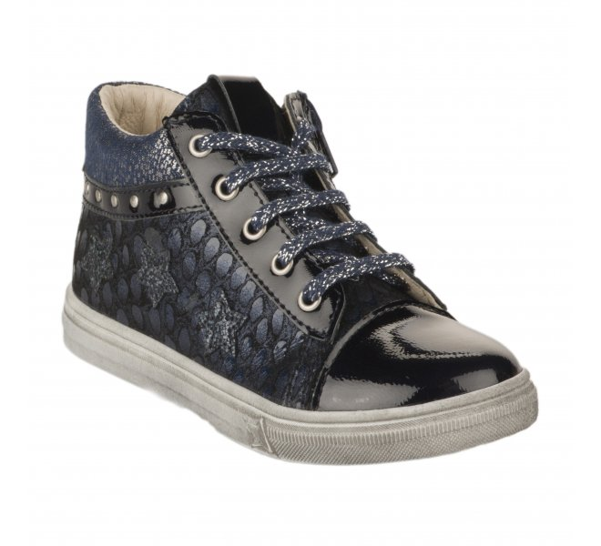 Bottines fille - BOPY - Bleu marine