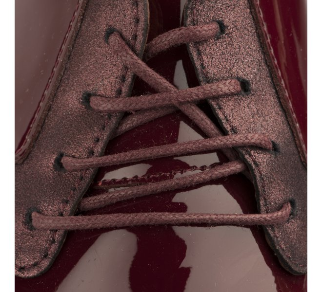 Chaussures à lacets femme - EMILIE KARSTON - Rouge bordeaux