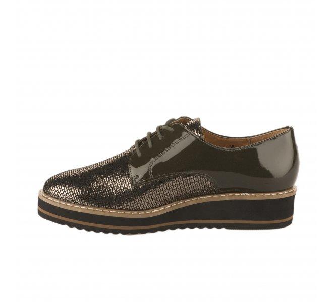 Chaussures à lacets femme - EMILIE KARSTON - Bronze