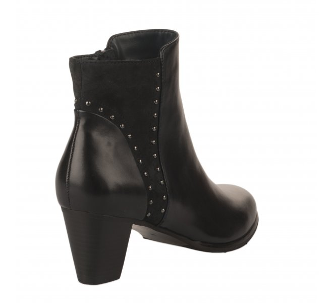 Boots femme - REGARDE LE CIEL - Bleu marine