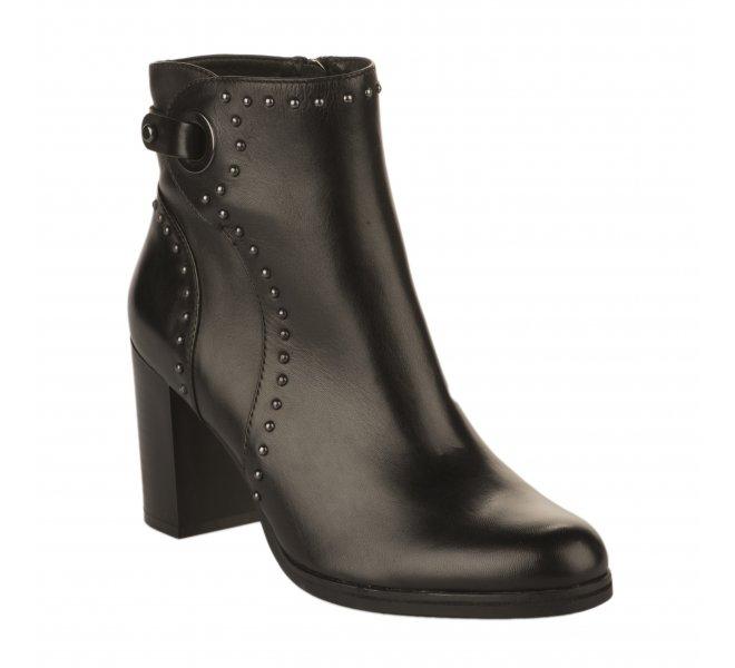 Boots femme - REGARDE LE CIEL - Noir
