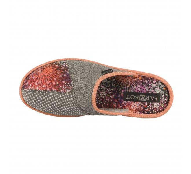 Chaussures femme - FARGEOT - Orange