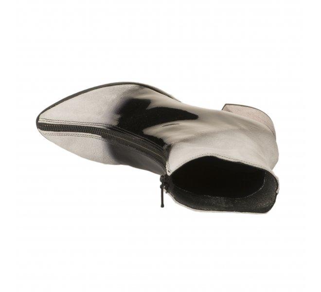 Boots femme - PAPUCEI - Bicolore