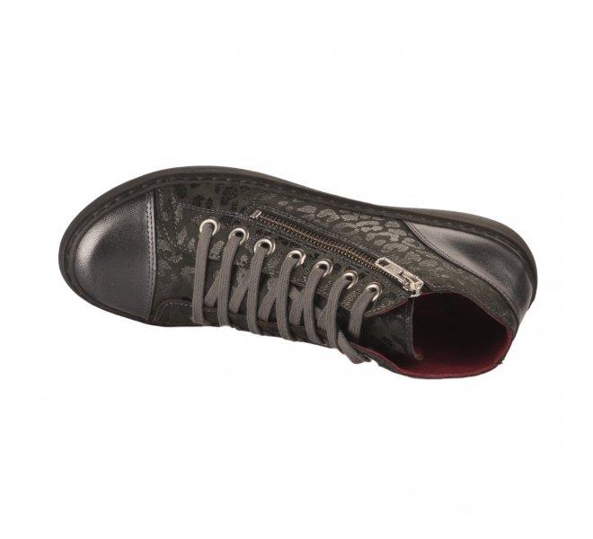 Baskets mode femme - CHACAL - Noir