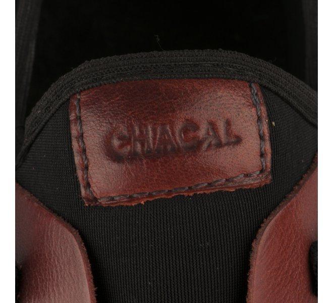 Baskets mode femme - CHACAL - Rouge brique