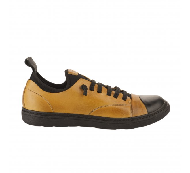 Baskets mode femme - CHACAL - Jaune