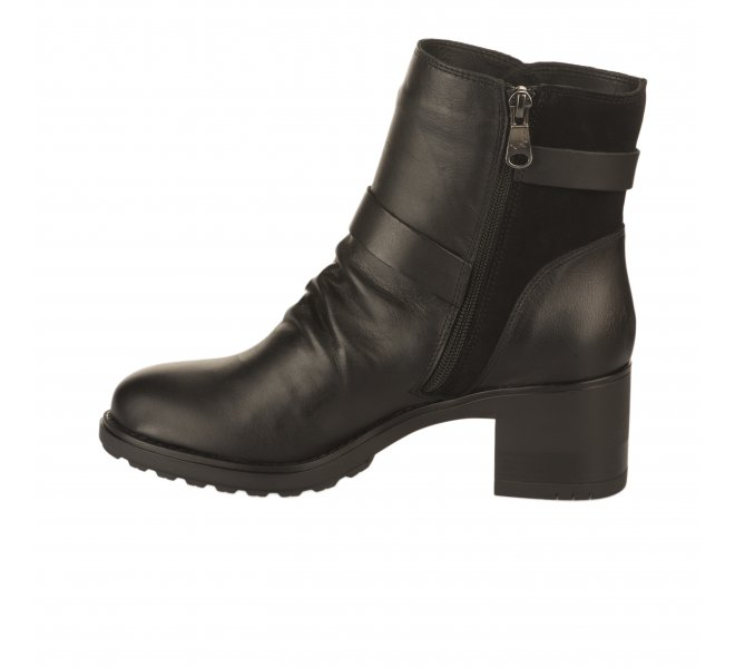 Boots femme - PAULA URBAN - Noir