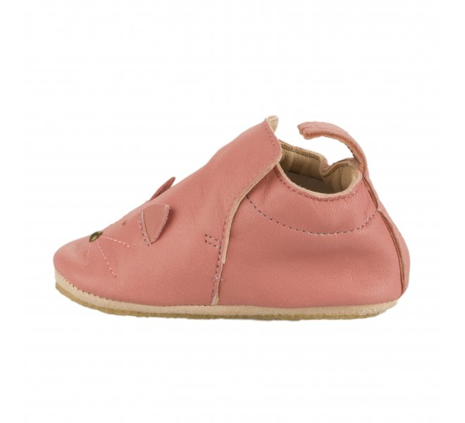 Chaussons fille - EASY PEASY - Rose