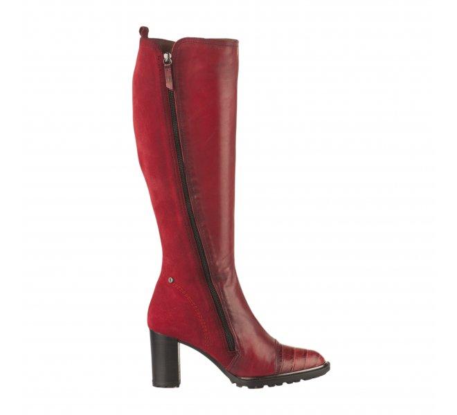 Bottes femme - HISPANITAS - Rouge