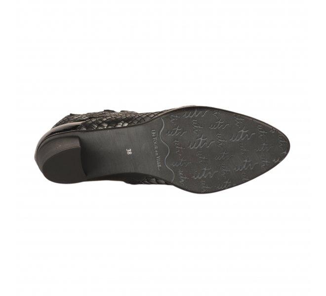 Boots femme - UN TOUR EN VILLE - Noir