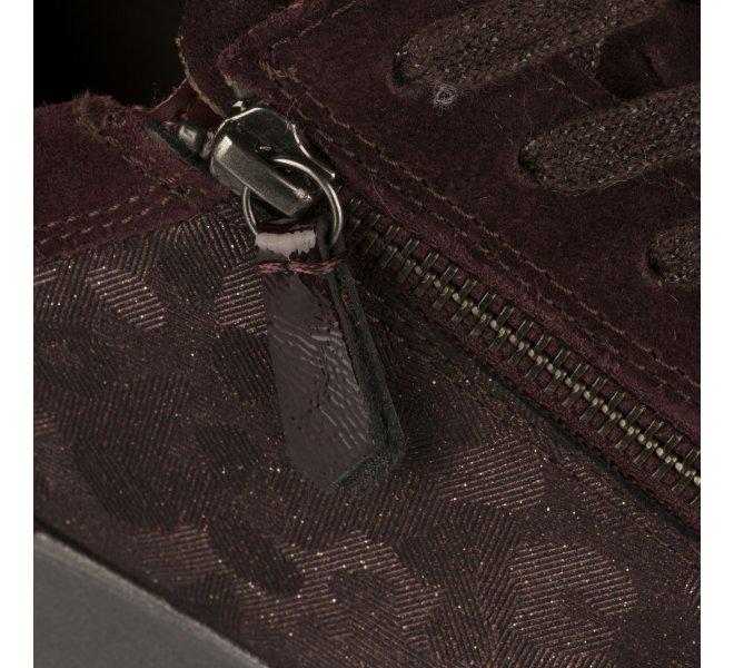 Baskets mode femme - GABOR - Rouge bordeaux