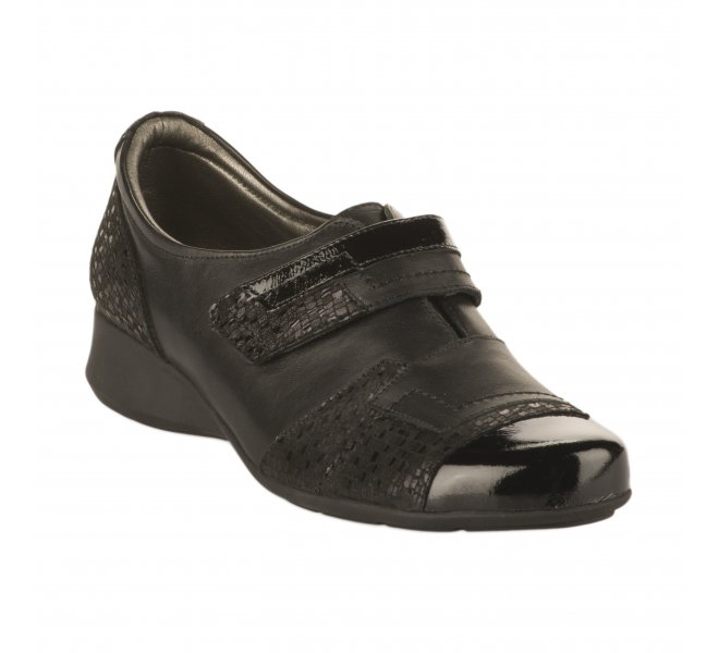 Chaussures de confort femme - PEDI GIRL - Noir