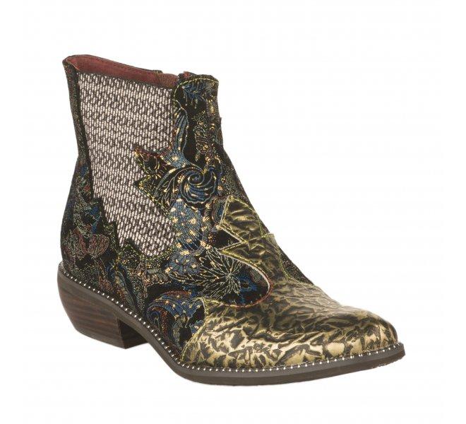Boots femme - LAURA VITA - Dore