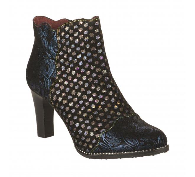 Boots femme - LAURA VITA - Bleu marine