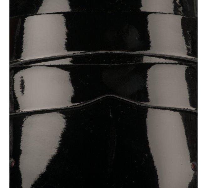 Mocassins femme - JB MARTIN - Noir verni